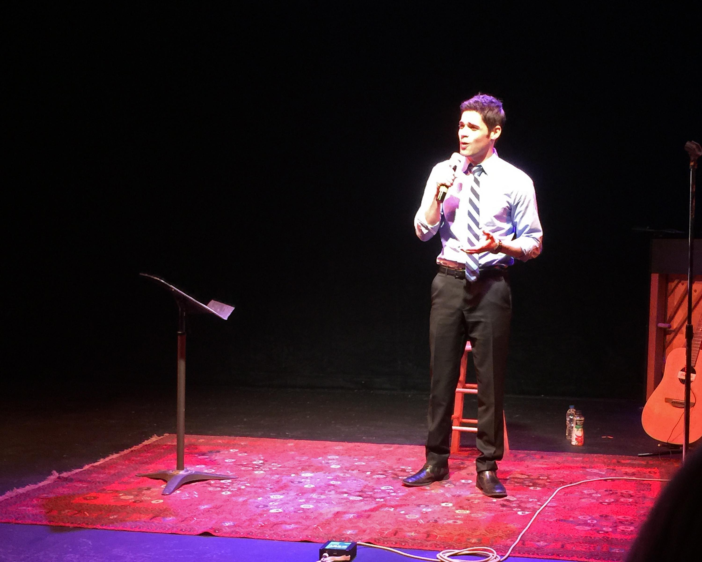 Amazing Jeremy Jordan at Dexter's Encore Musical Theatre Company