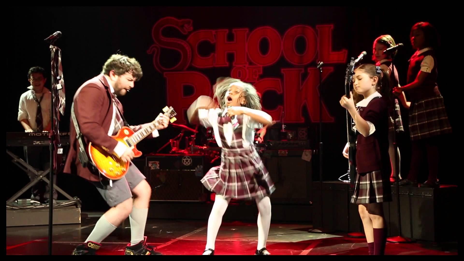 Surprisingly Excellent School Of Rock At The Winter Garden Theatre