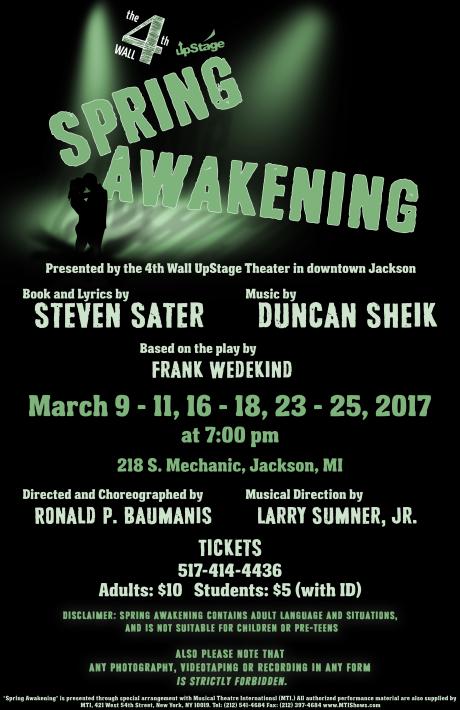 Spring Awakening musical | Mostly Musical Theatre